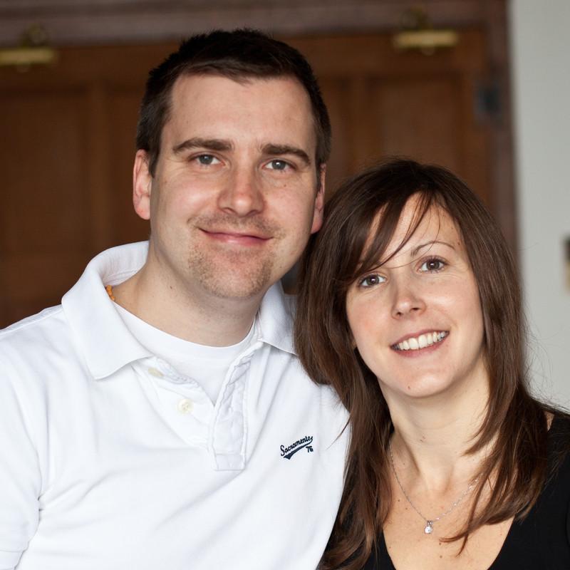 Clare and Mark Dawson :