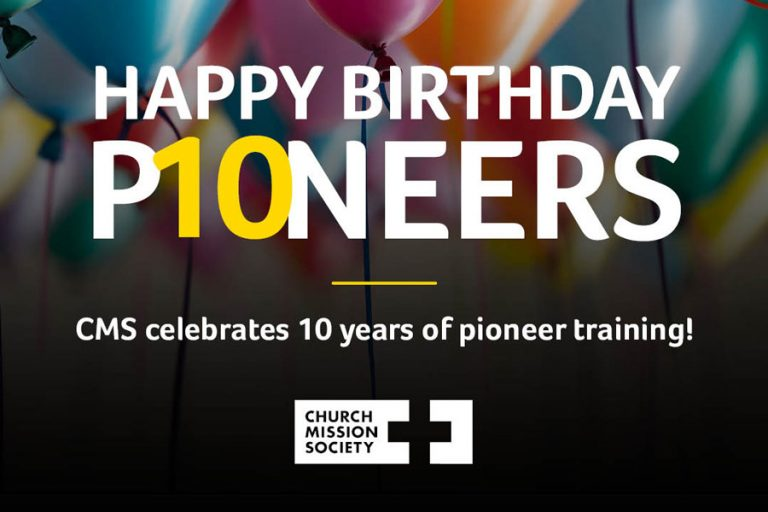"""Happy birthday Pioneers"" graphic"