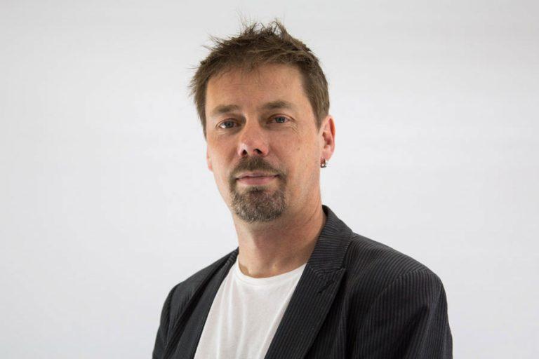 Portrait shot of Jonny Baker