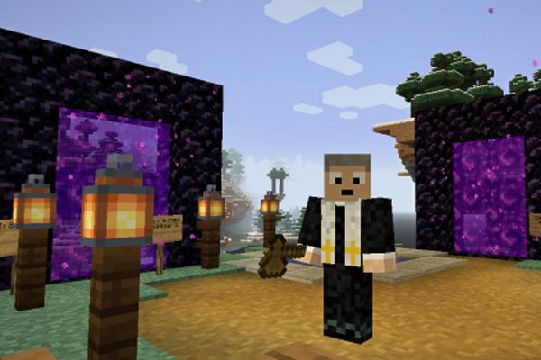 Minecraft screenshot: Rev Kevin's avatar