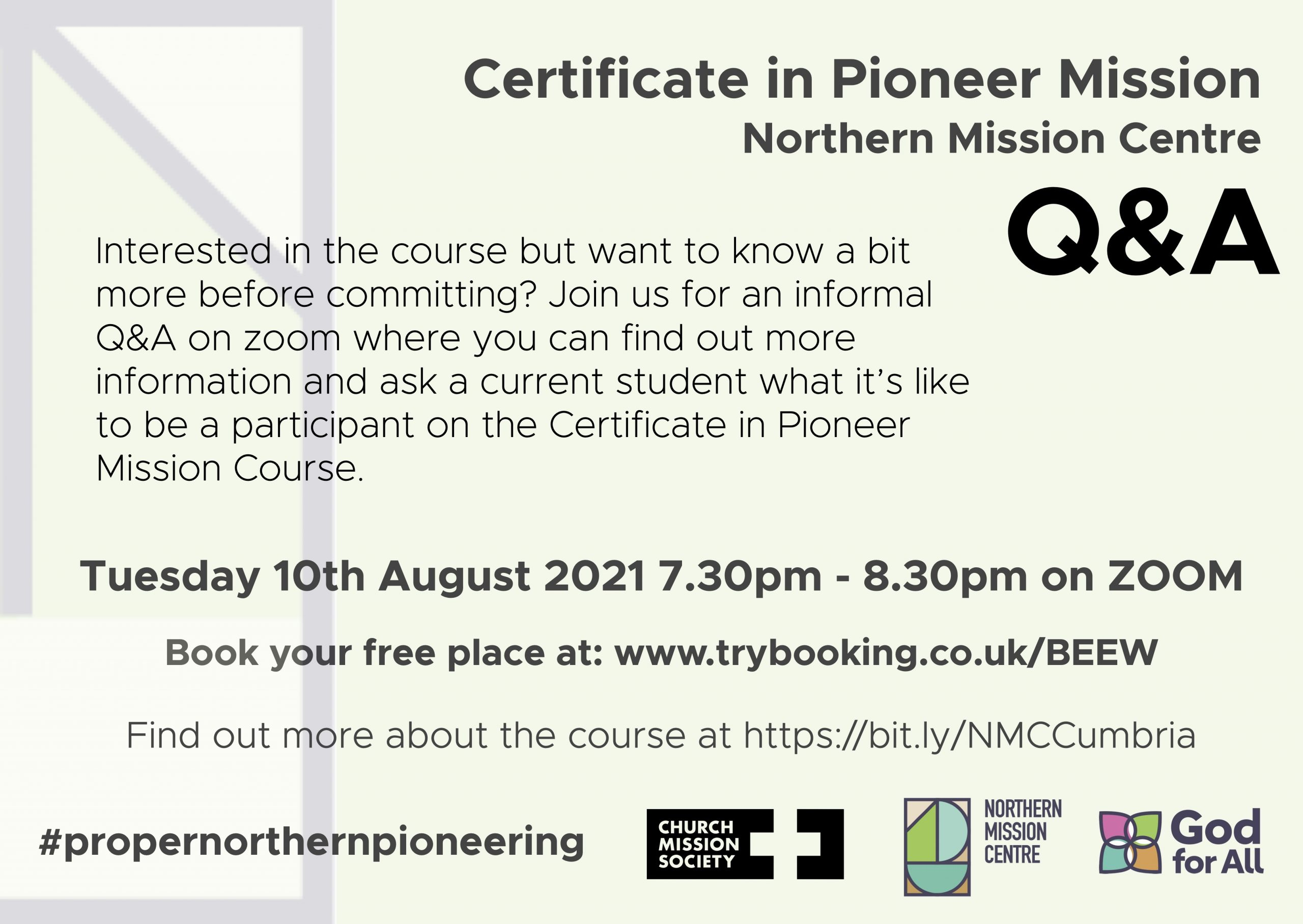Northern Centre Q&A