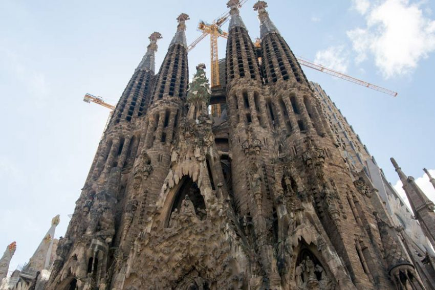 Unfinished masterpiece: Gaudi's cathedral, Sagrada Familia, in Barcelona. All photos by Jonny Baker