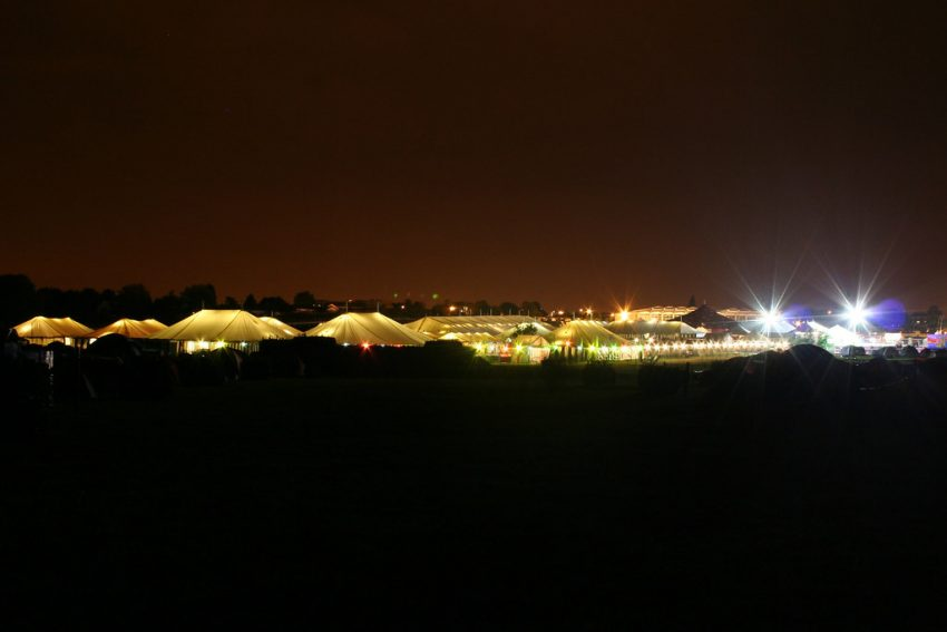 greenbelt at night