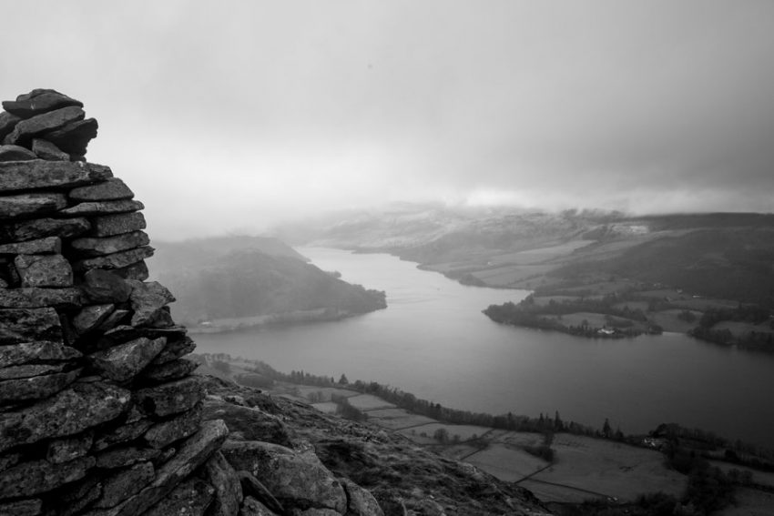 Arthur's Pike overlooking Ullswater. Photo: Jonny Baker