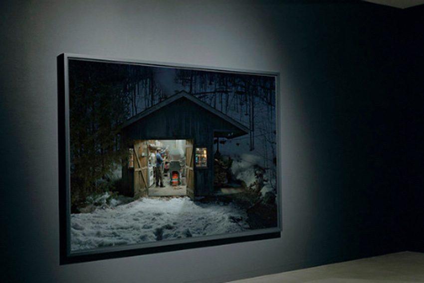 Scott McFarland: Sugar Shack, Vancouver Art Gallery. (Photo Sarah Clarke)